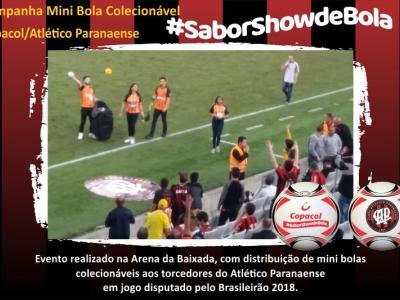 Campanha #saborshowdebola Copacol/Atlético - PR